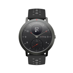 MultiSports Connected Watch - Steel HR - Black