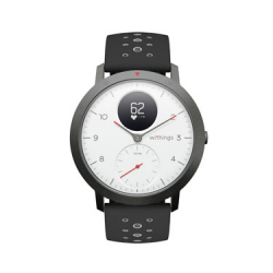 MultiSports Connected Watch - Steel HR - White