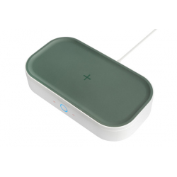 UV Disinfectant Box and Induction Charger for Smartphones