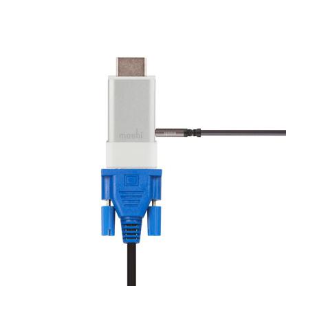 Adaptateur de Port HDMI vers VGA Audio