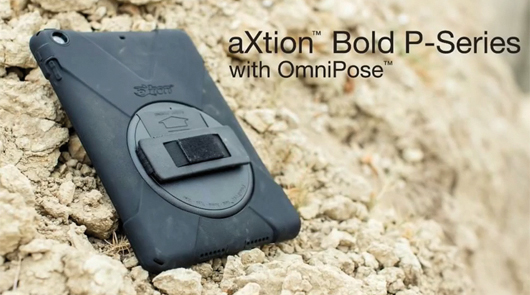 AXTION BOLD P - PROTECTION SHELL WITH WRIST-STRAP